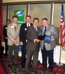 Mr. John DiScenza receives the award on behalf of General Cable