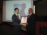 Ambassador Han Duk-soo Receives Kentucky Colonel Recognition
